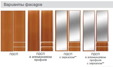Распашные шкафы с фасадами лдсп в глянцевой пленке пвх купит.
