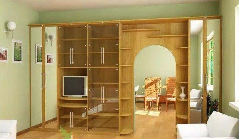 Распашной шкаф на заказ по индивидуальным размерам в москве.